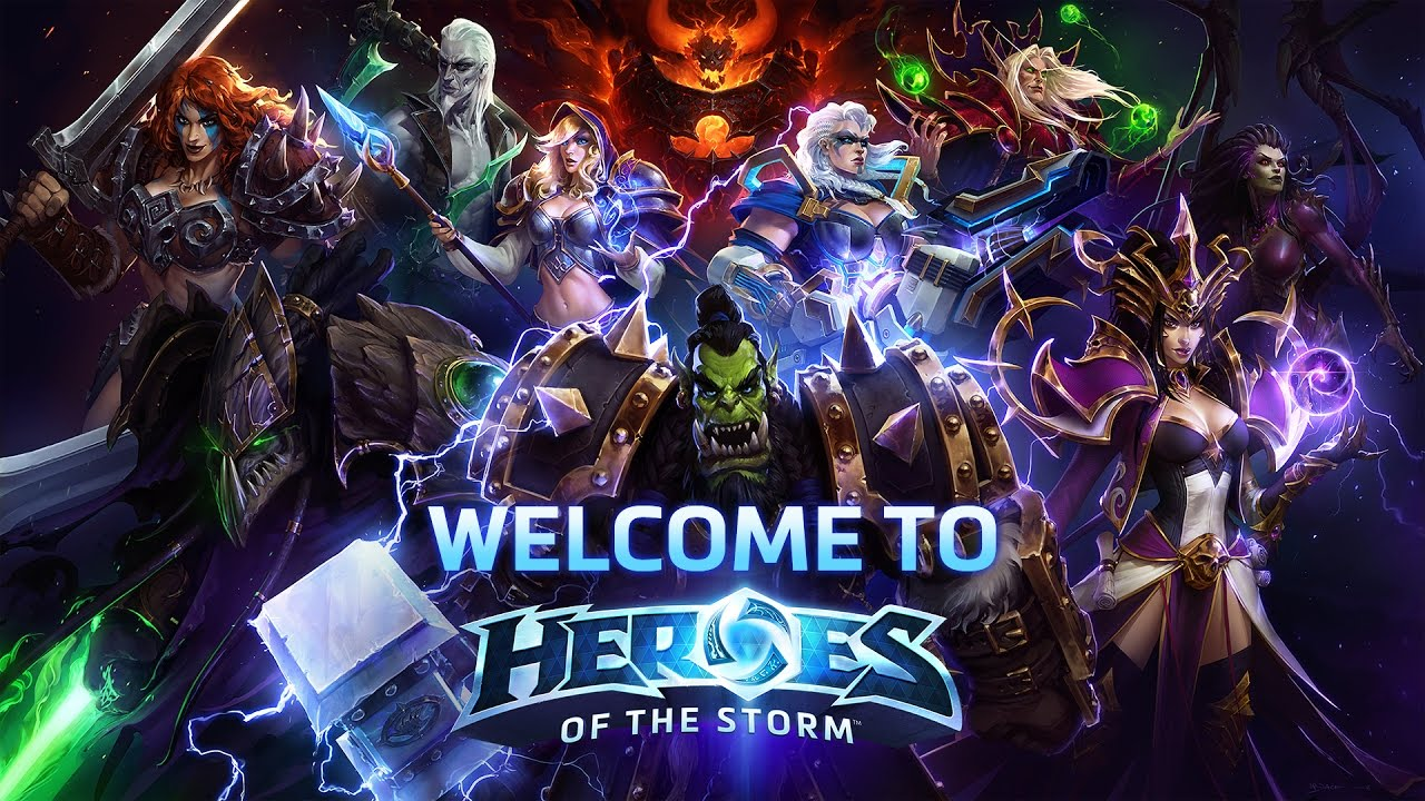 HEROES OF THE STORM CYBERCUP [01.06.2018]