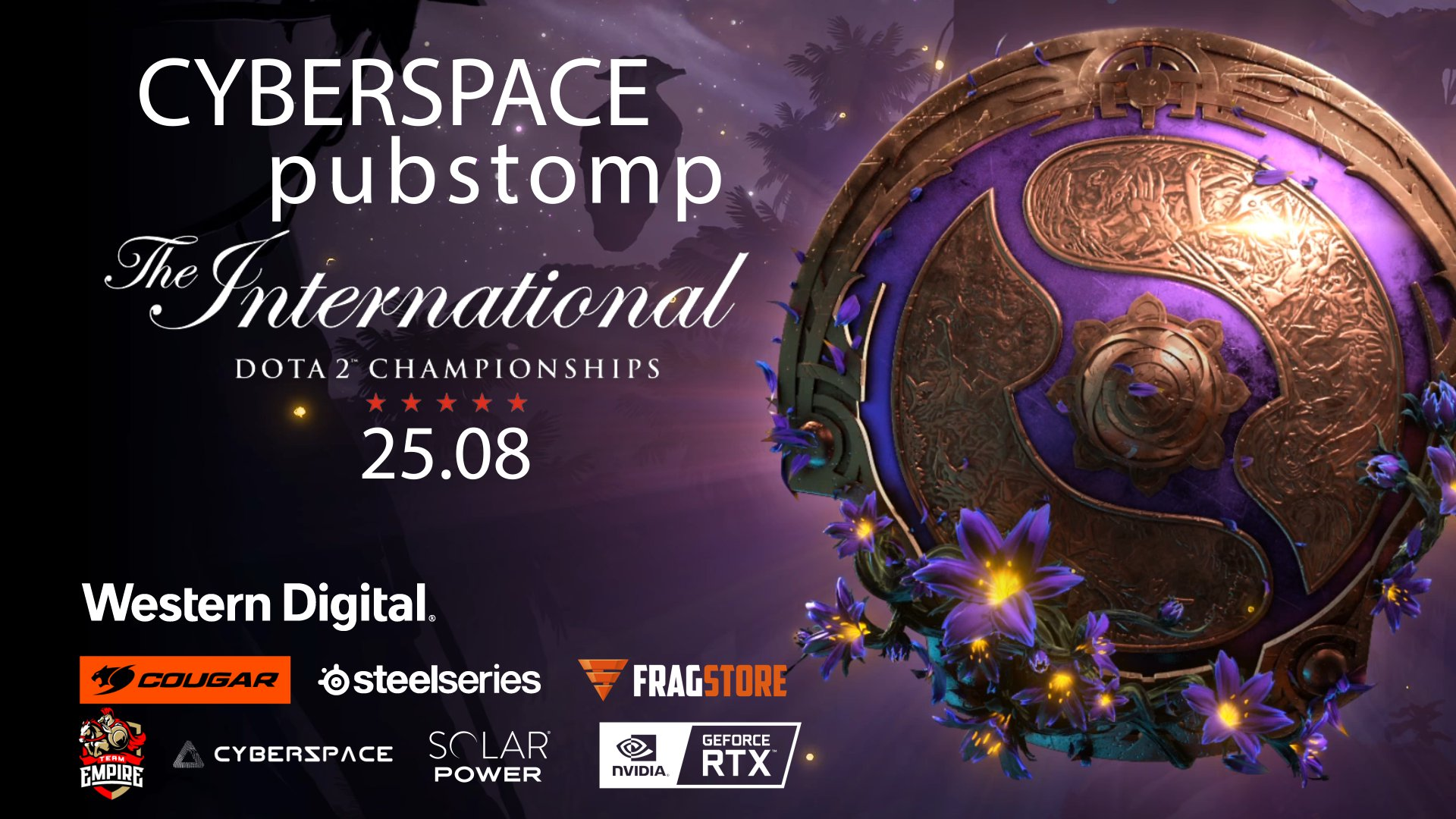 ПАБСТОМП ПО THE INTERNATIONAL 2019